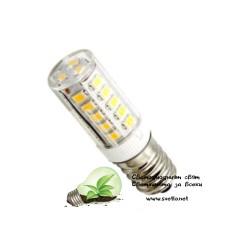 LED Крушка за Хладилник 5W E14 Топло Бяла