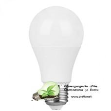 LED Крушка A60 9W 220V E27 CW 6500K 810Lm DOB драйвър Студено Бяла