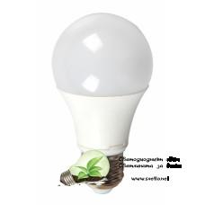 LED Крушка 10W Е27 Топло Бяла