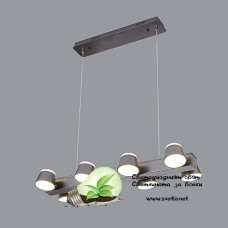 LED Пендел RADI МЕТАЛ 42W 220V 4000K Цвят Кафе