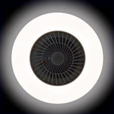 LED Плафон вентилатор с дистанционно 55W 220V 3000K/4500K/6500K бял Ф608