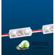 G.O.Q. 2 LED Mini Red Shallow – червени мини LED модули с матирани лещи