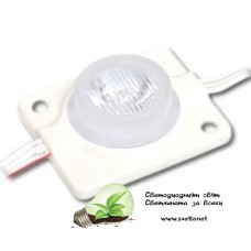 LED Модул SMD3030 Студено Бял Копче Водоустойчив