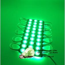 LED Модул SMD5730 Зелен Водоустойчив