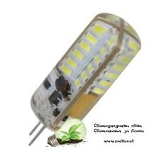 LED Ампула G4 12V DC 3W Студено Бяла