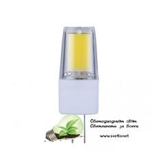 LED Ампула COB 2.5W 12V G4 AC/DC NW 4000K Неутрално Бяла