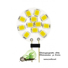 LED Лампа Плочка 2W 12V G4 NW 4000K