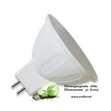 LED Спот за Луна HL 5W G5.3 (MR16) 12V Топло Бял