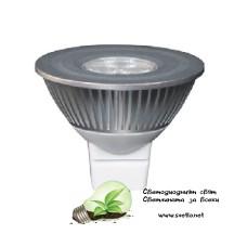 LED Спот за Луна GE 4W/830 G5.3 12V Топло Бял