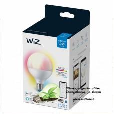 WIZ Wi-Fi LED лампа 11W G95 E27 1055lm 2700K-6500K+RGB 25000h