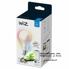 WIZ Wi-Fi LED лампа 13W A67 E27 1521lm 2700K-6500K+RGB 15000h