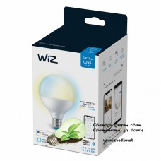 WIZ Wi-Fi LED лампа 11W G95 E27 1055lm 2700K-6500K 25000h