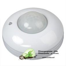 PIR Сензор за Движение за Външен Монтаж, 220V AC, 360°, 6m