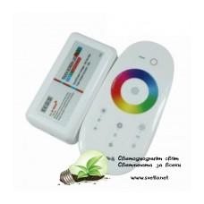 Контролер за RGB+W Лента 288W със Сензорно Дистанционно Управление