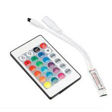 Контролер за RGB Лента 72W 24 бутона IR Мини