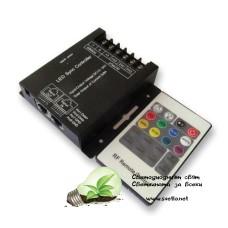 Мрежов LAN LED Контролер за RGB Лента RF Дистанционно Управление 20 Бутона до 288W