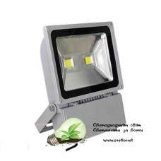 LED Прожектор 100W СИВ
