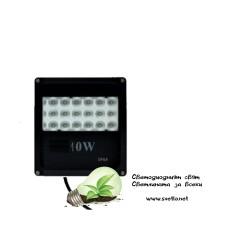 LED Прожектор REFL 10W ЧЕРЕН