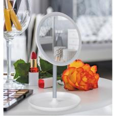 LED Светещо Огледало Кръгло със Стойка