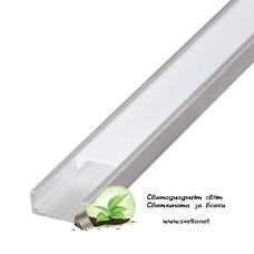 Алуминиев Профил 2m за LED лента SLIM