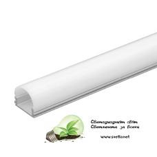 Алуминиев Профил 2m за LED лента U