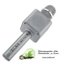 Безжичен Bluetooth Караоке Микрофон с Вграден Говорител Smart Technology JY-53