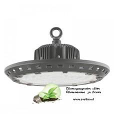 LED камбана UFO 100W 6500K 120lm/W IP65