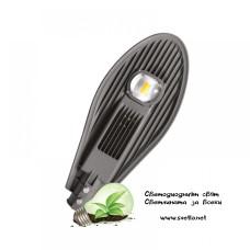 LED уличен осветител 20W 6500K за Ф40 с драйвър MEAN WELL